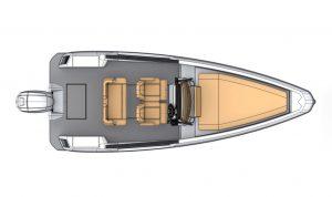 Saxdor 200 four seat layout