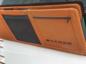 Saxdor 200 detalle tapicería cortesía de Ideal Boat